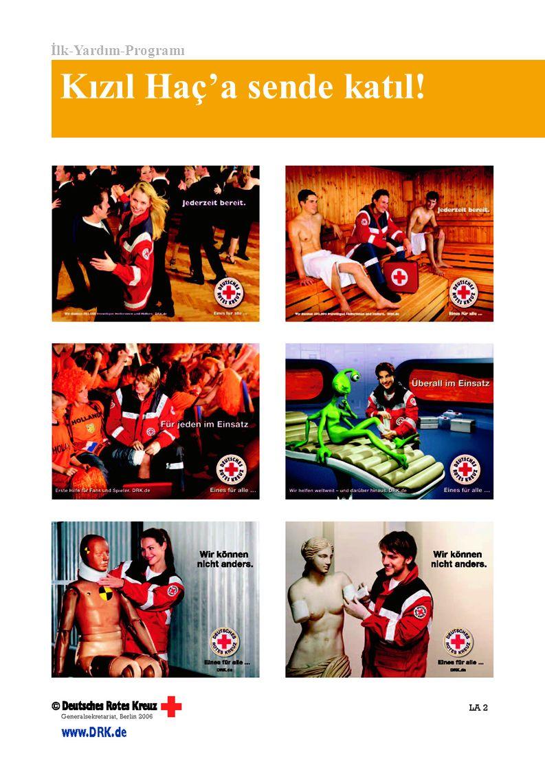 İlk-Yardım-Programı Kızıl Haç'a sende katıl!