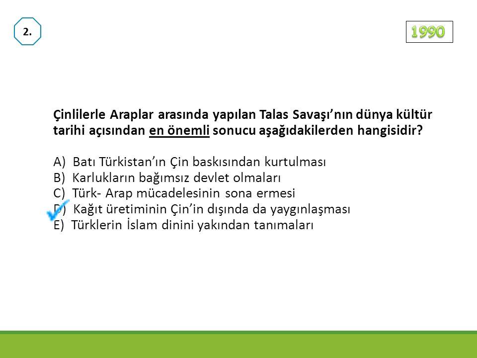 Türk- İslam uygarlığında aşağıdakilerden hangisinin yasaklan- ması, oymacılık, kakmacılık ve nakkaşlık gibi süsleme sanat- larının gelişmesinde etkili