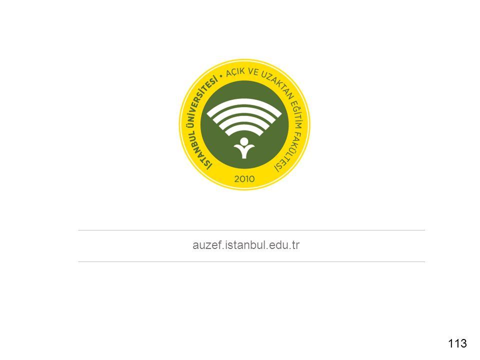 auzef.istanbul.edu.tr 113