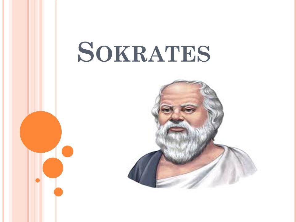 S OKRATES K İ MD İ R .SokratesSokrates, 2400 yıl önce Atina da yaşamış olan zeki bir adamdı.