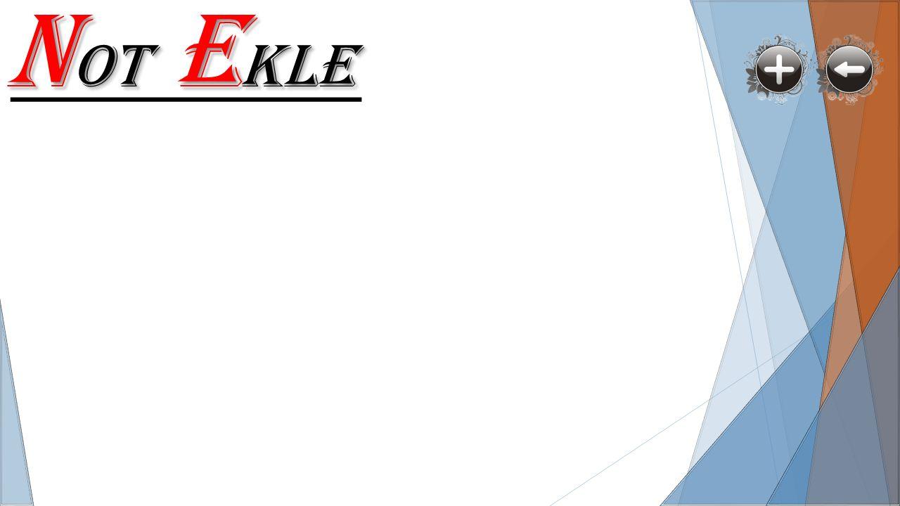 N OT E KLE c
