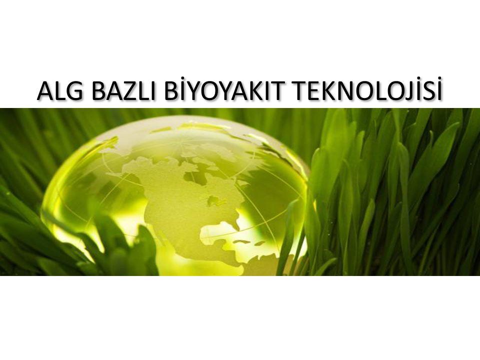 Hammadde Üretim ve Alg Büyümesi Taze ortam pompa egzoz Soğutma suyu hava Solar Array hasat Gaz giderici