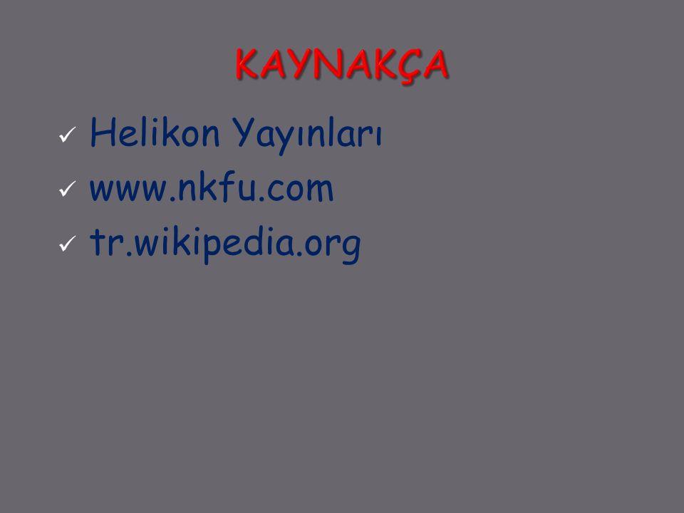 Helikon Yayınları www.nkfu.com tr.wikipedia.org