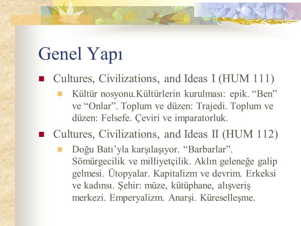 Kaynaklar (Sonbahar) devam Eskiçağ Uygarlıkları ve Felsefeleri Yunan: Plato, Meno.