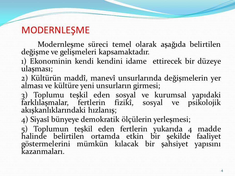 OSMANLI DEVLETİ'NDE SİYASAL YAPI Tüm eski Türk devletlerinde olduğu gibi, Osmanlı Devleti'nde de sistemin ana unsuru güçlü bir merkezi otoritedir.