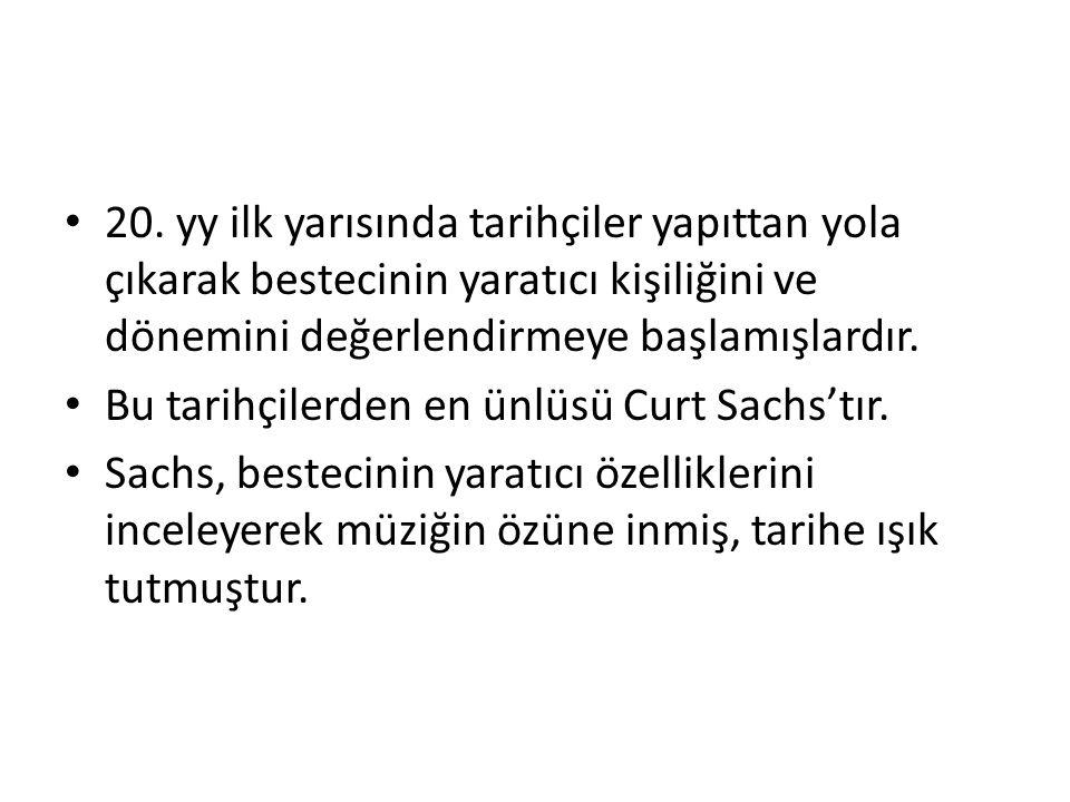 Müzik Tarihinin Temel Kavramları Müzik Tarihi, 19.