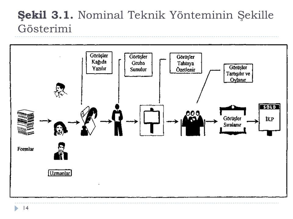 Şekil 3.1. Nominal Teknik Yönteminin Şekille Gösterimi 14
