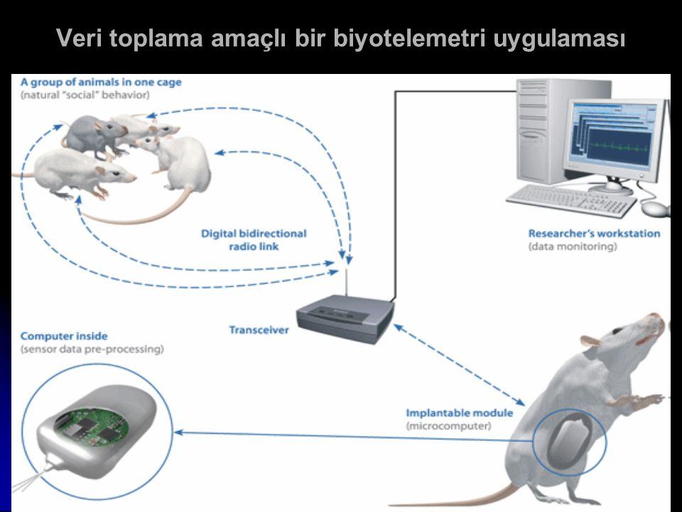 Veri toplama amaçlı bir biyotelemetri uygulaması