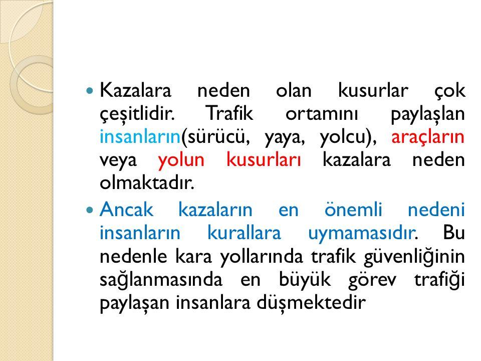 KAYNAKLAR Doç.Dr.Ayşe Çevirme.Ders notları(2014) ŞIMŞEKO Ğ LU, ÖZLEM(2012) http://ajanspsikoloji.com/emniyet- kemeri-takmayi-neden-