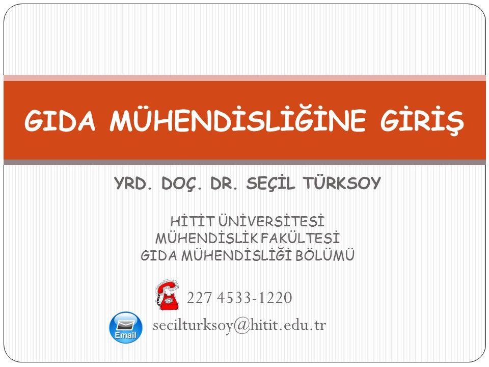 Türkiye'deki Gıda Mühendisliği Bölümleri 42 4060117-GMG-ST ÜNİVERSİTE Erciyes Ünv.