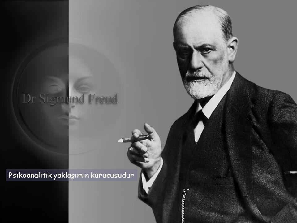 Psikoanalitik yaklaşımın kurucusudur