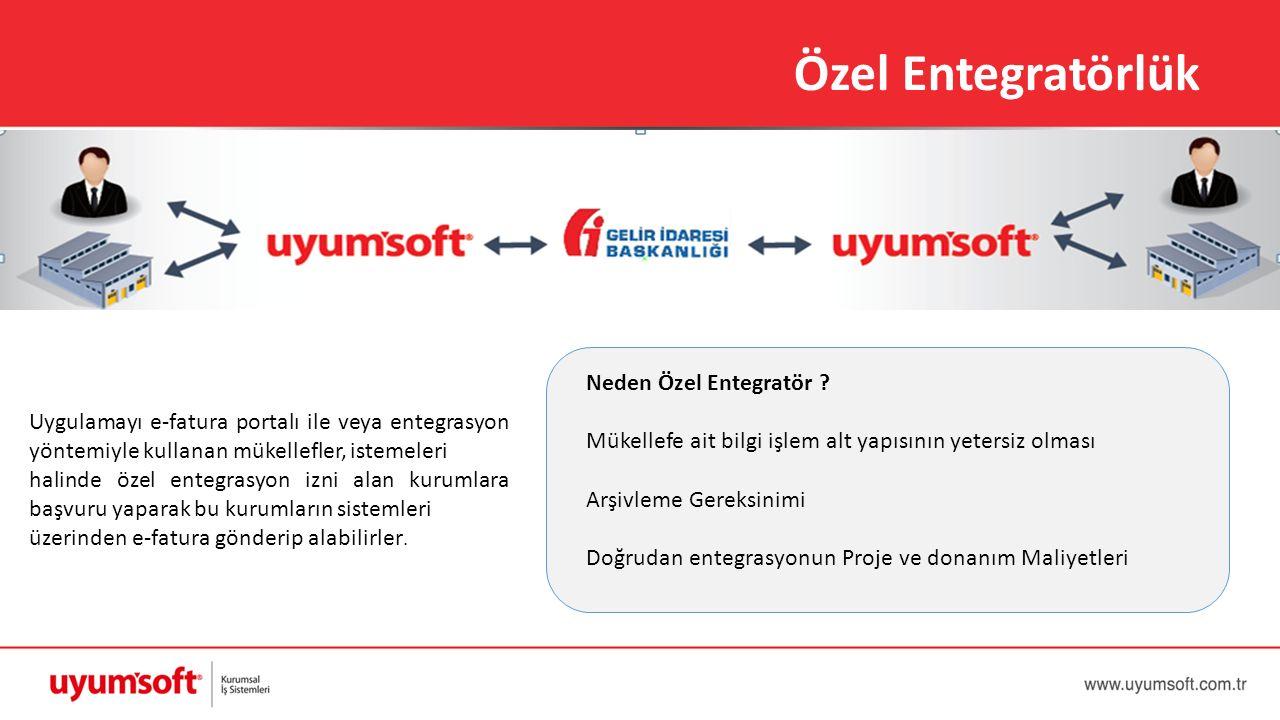 Uygulamayı e-fatura portalı ile veya entegrasyon yöntemiyle kullanan mükellefler, istemeleri halinde özel entegrasyon izni alan kurumlara başvuru yapa