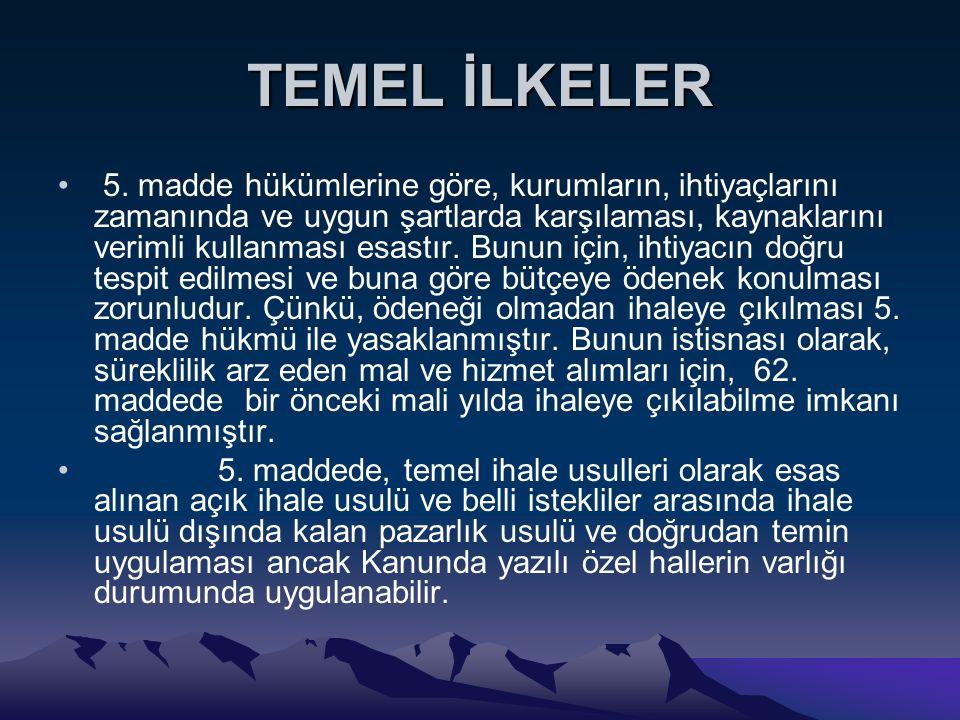 TEMEL İLKELER 5.