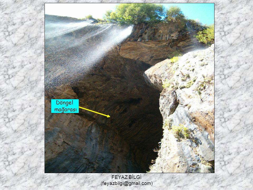 5- Mağara : Yer altı sularının kalkeri eritmesiyle, yer altında oluşan boşluklardır. Örnek : Damla taş, Kara in ( Antalya ), İn suyu ( Burdur ), Astım