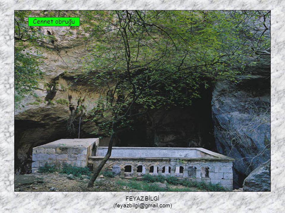 FEYAZ BİLGİ (feyazbilgi@gmail.com) 6- Obruk : Yer altındaki mağara ve galerilerin, tavanlarının çökmesiyle oluşan derin kuyulara denir. Örnek : Cennet