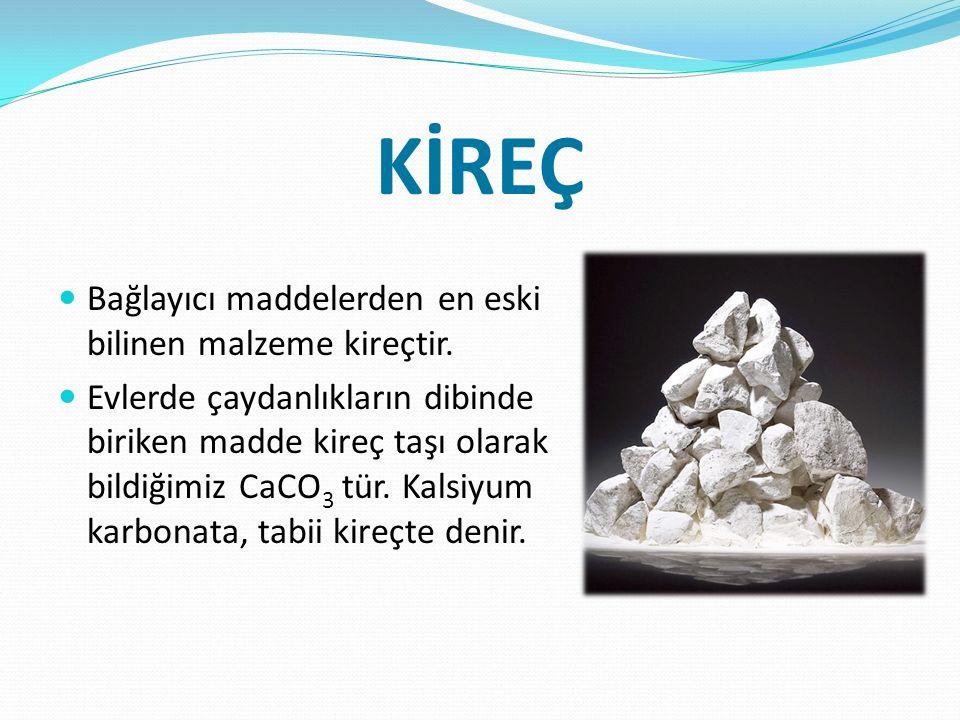 Kireç taşı türleri Tabii kireç taşı:Tabii kireç taşı, bileşiminde kütlece en az %90 oranında kalker (kalsiyum karbonat, CaCO 3 ) bulunduran tortul bir kayaçtır.