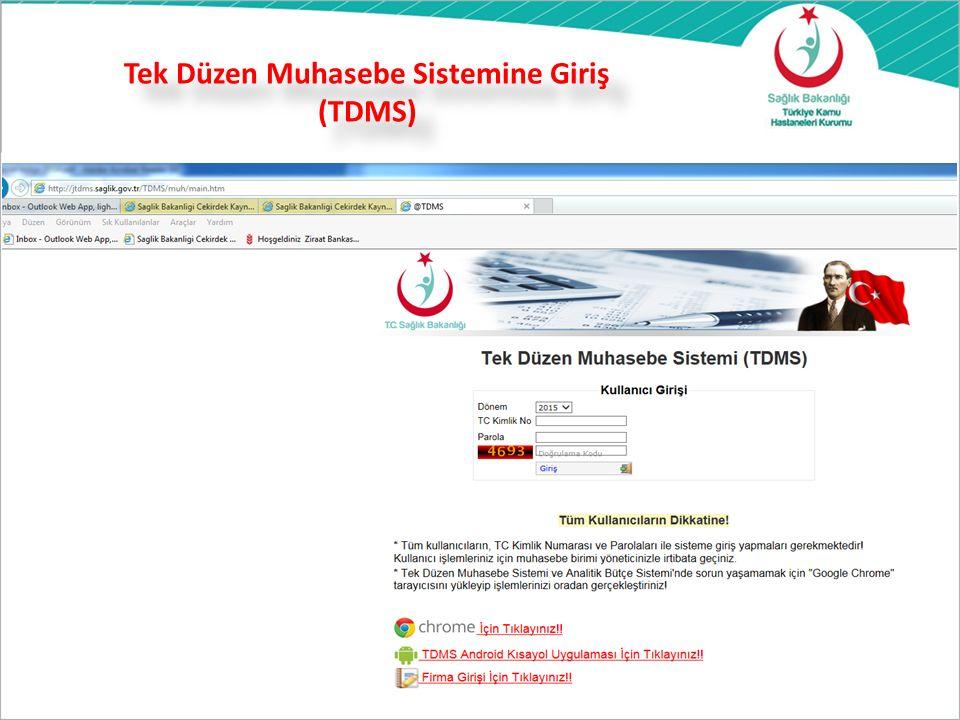 Tek Düzen Muhasebe Sistemine Giriş (TDMS) 27