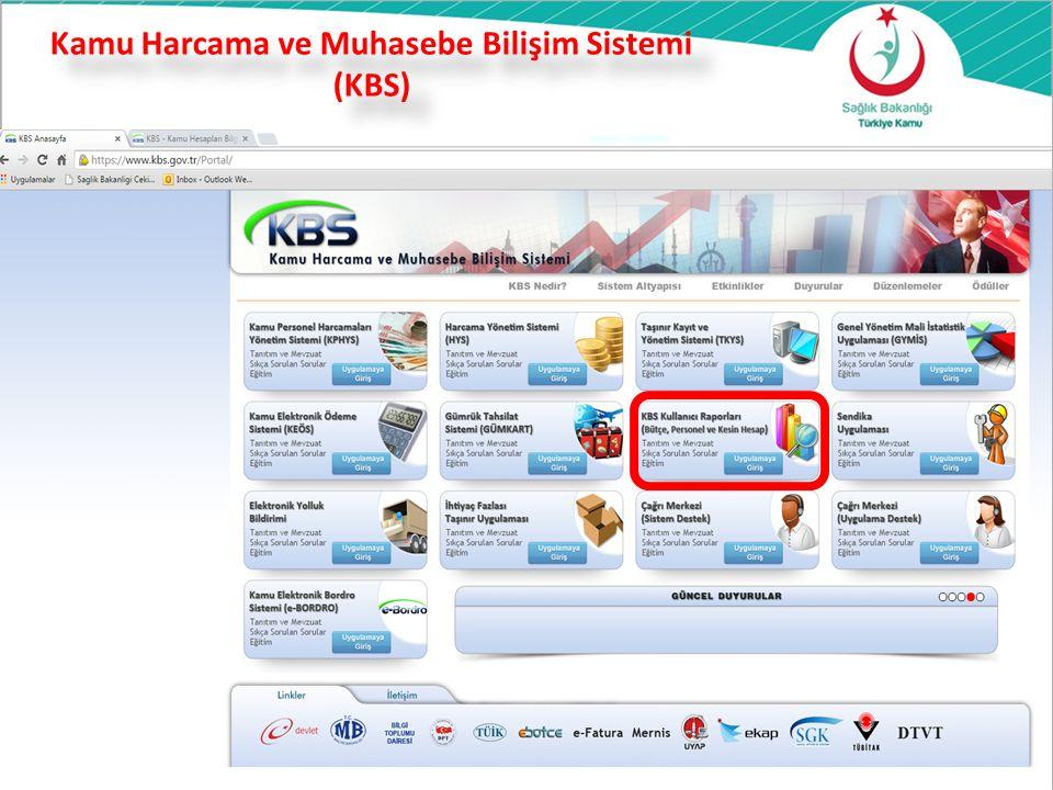 Kamu Harcama ve Muhasebe Bilişim Sistemi (KBS) 32