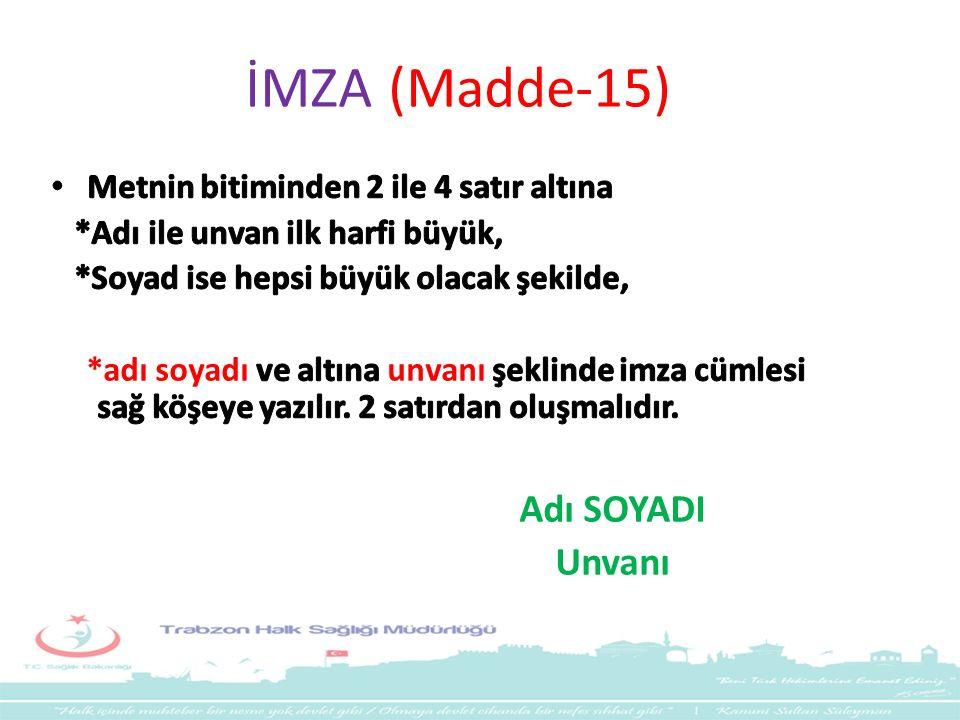 İMZA (Madde-15)