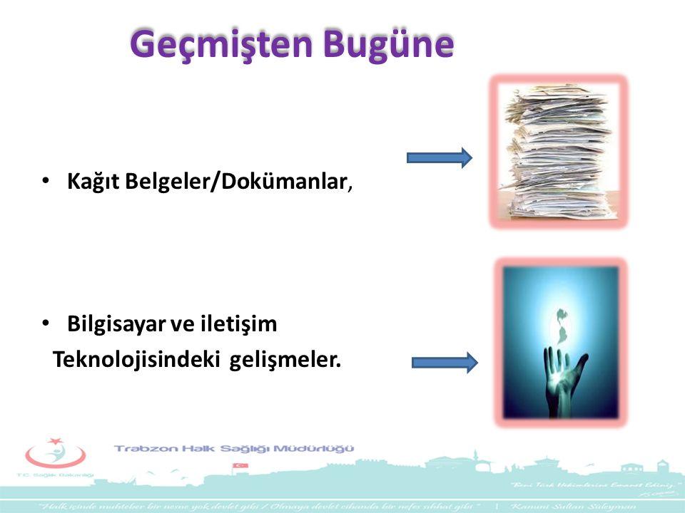 Geçmişten Bugüne Kağıt Belgeler/Dokümanlar, Bilgisayar ve iletişim Teknolojisindeki gelişmeler.