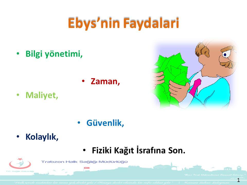 Ebys'nin Faydalari Bilgi yönetimi, Zaman, Maliyet, Güvenlik, Kolaylık, Fiziki Kağıt İsrafına Son. 1