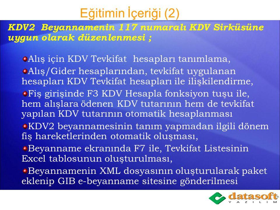 Eğitimin İçeriği (1) 6102 Sayılı Türk Ticaret Kanunu ve uygulama zorunluluğu getirilecek olan KOBI TFRS, Etkin Faiz Yöntemi nedir ve nasıl uygulanır, Ertelenmiş Vade Farkı Gelirleri, Vade Farkı Gelirleri, Vade Farkı Giderleri.