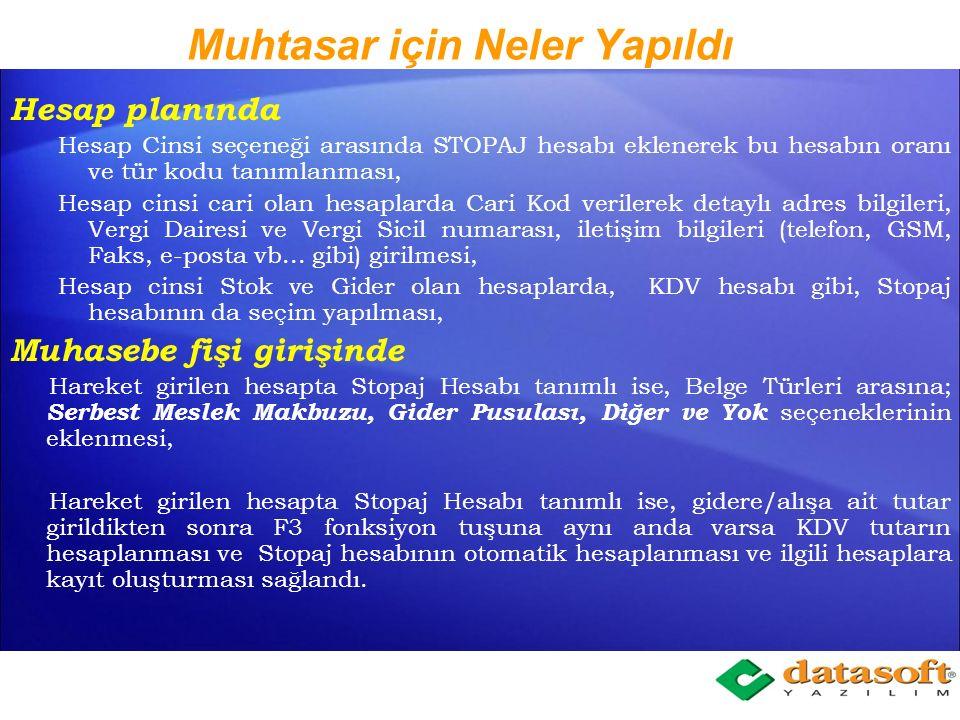Muhtasar Beyanname GIB (Gelir İdaresi Başkanlığı) 02 / 05 / 2012 tarihinde yayınladığı 82 numaralı gelir Vergisi Sirküsü ile; Muhtasar Beyannamenin ''Tevkifata Tabi Ödemelere Ait Bildirim (Ücret ve Ücret Sayılan Ödemeler Hariç) bölümünde, Ödeme Yapılanın Adı, Soyadı (Unvanı), Adresi, T.C.