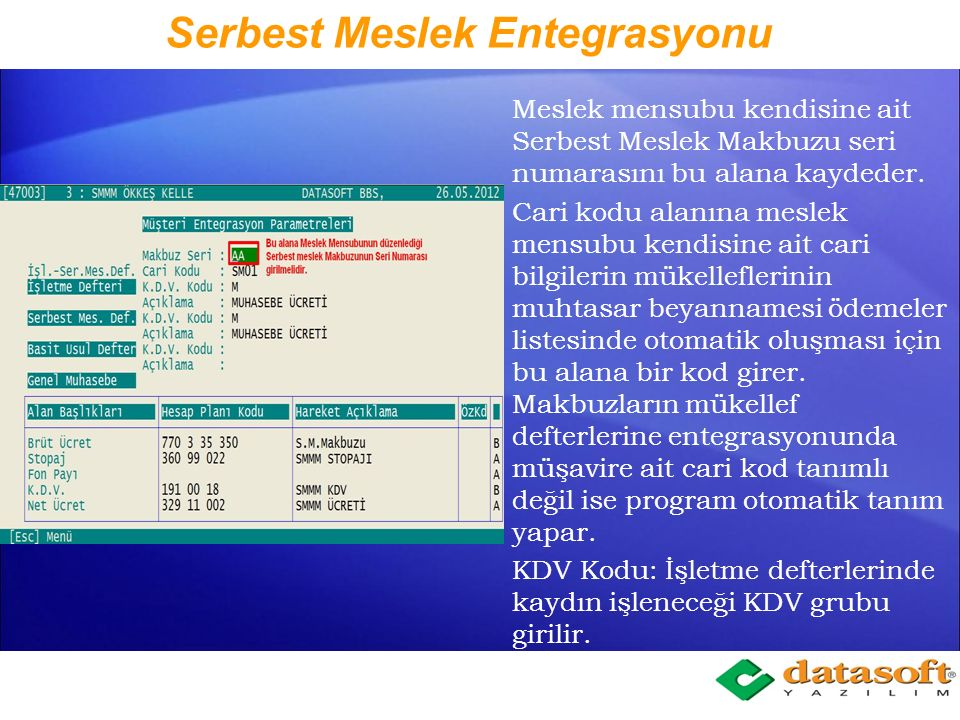BBS (Kira Tanımları) Gayri Menkul Sahip Bilgileri sekmesinde mal sahiplerinin; Adı, Soyadı, TC/Vergi numarası, Tür Kod, Oranı, Açık Adresi, kaydedilir.