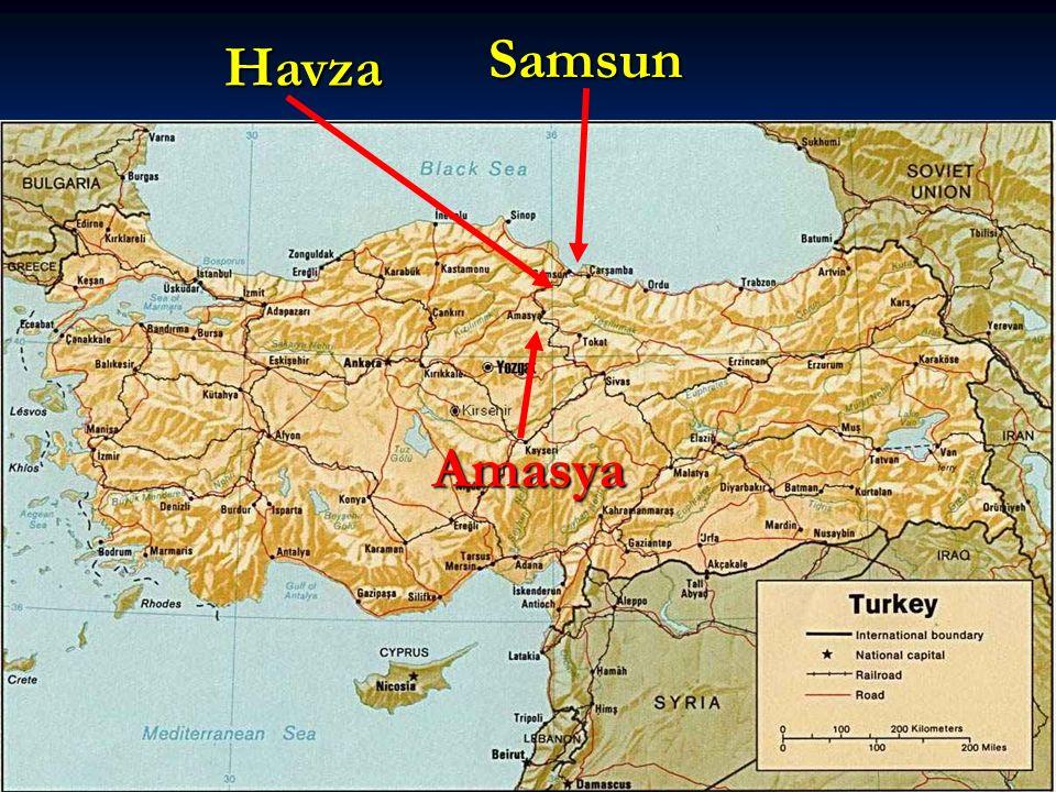 Samsun Havza Amasya