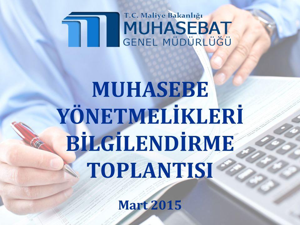 Genel Yönetim Muhasebe Yönetmeliği Merkezi Yönetim Muhasebe Yönetmeliği Mahalli İdareler Bütçe Ve Muhasebe Yönetmeliği Sosyal Güvenlik Kurumu Başkanlığı Muhasebe Yönergesi Türkiye İş Kurumu Muhasebe Uygulama Yönetmeliği