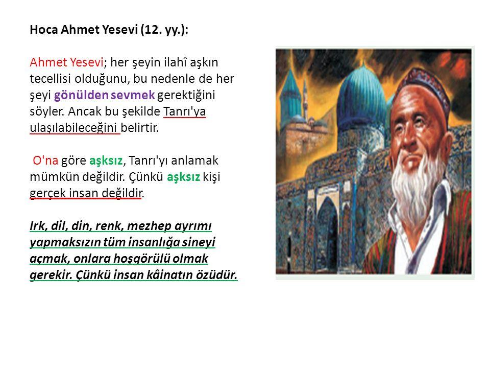 Hoca Ahmet Yesevi (12.