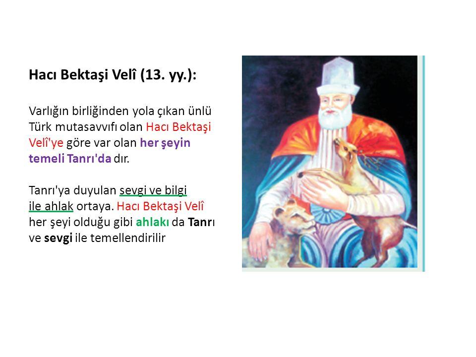 Hacı Bektaşi Velî (13.