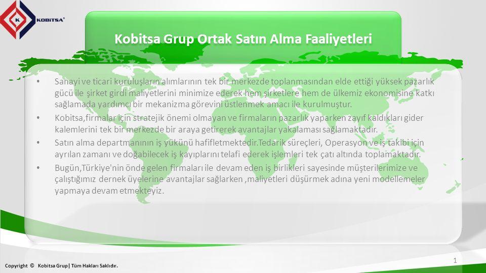Kobitsa Grup Ortak Satın Alma Faaliyetleri 1 Copyright © Kobitsa Grup| Tüm Hakları Saklıdır.