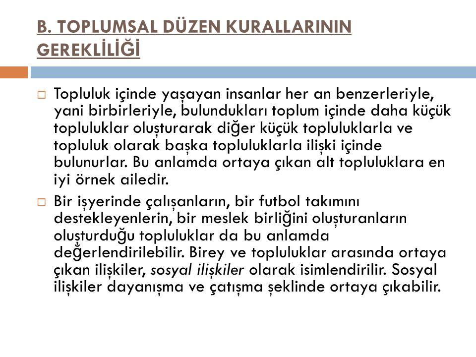 Hukuk ta Yaptırım ( Sanctions in the Field of Law ) A.