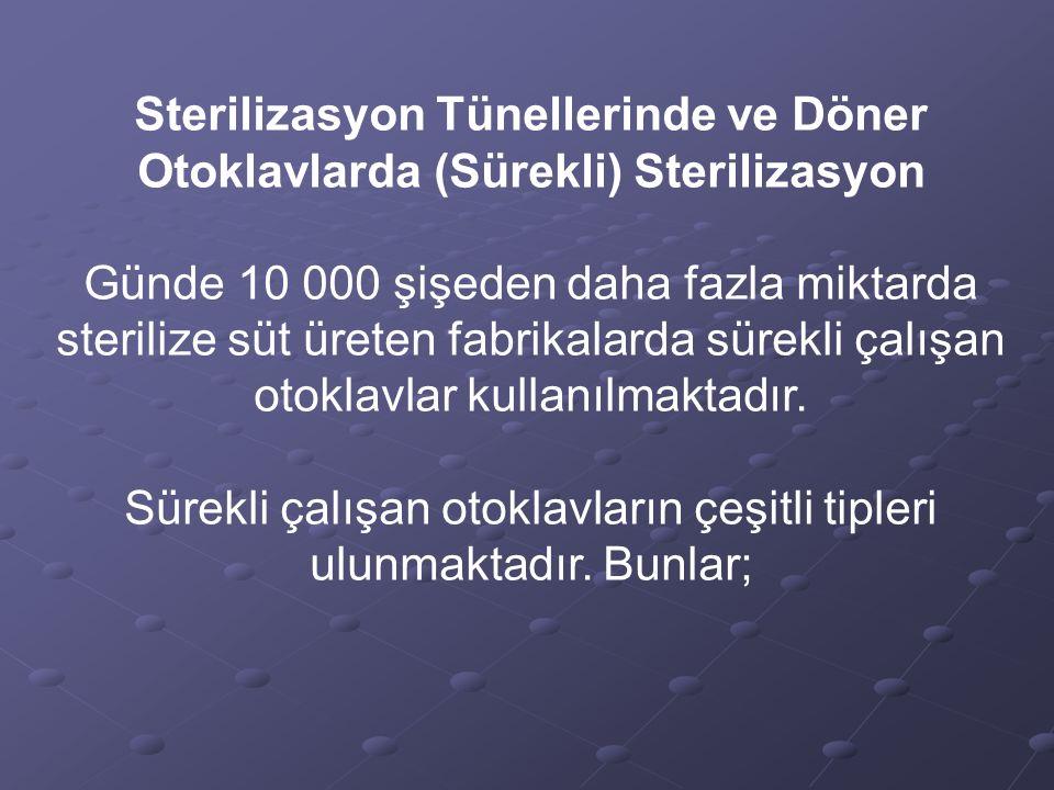 Ø Hidrostatik Dikey Sterilizatör Bu tip sterilizatörler; 1.