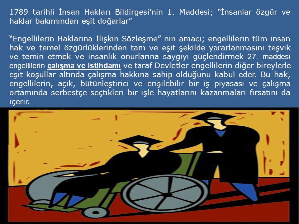 1789 tarihli İnsan Hakları Bildirgesi'nin 1.