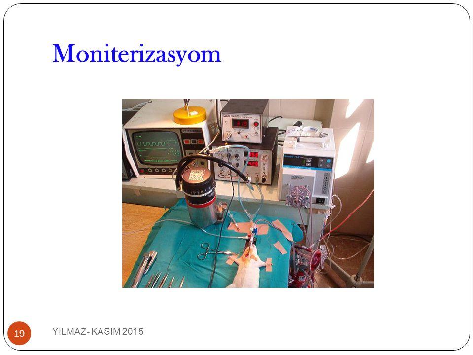 Moniterizasyom 19 YILMAZ- KASIM 2015