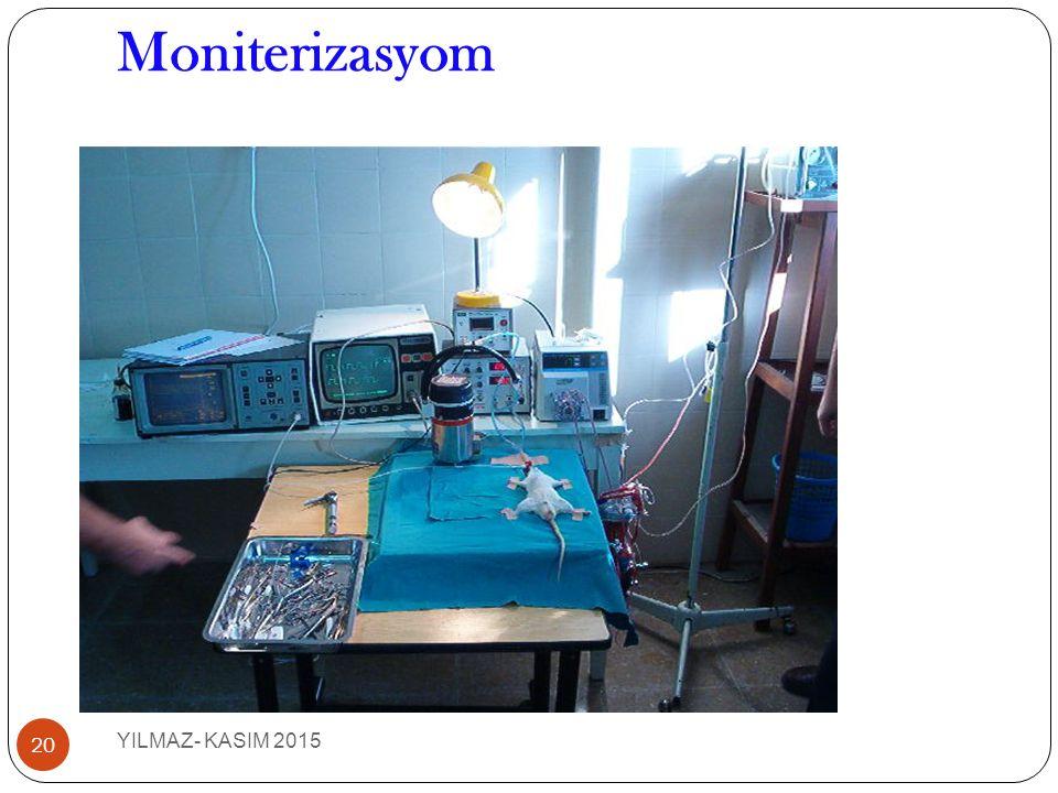 Moniterizasyom 20 YILMAZ- KASIM 2015