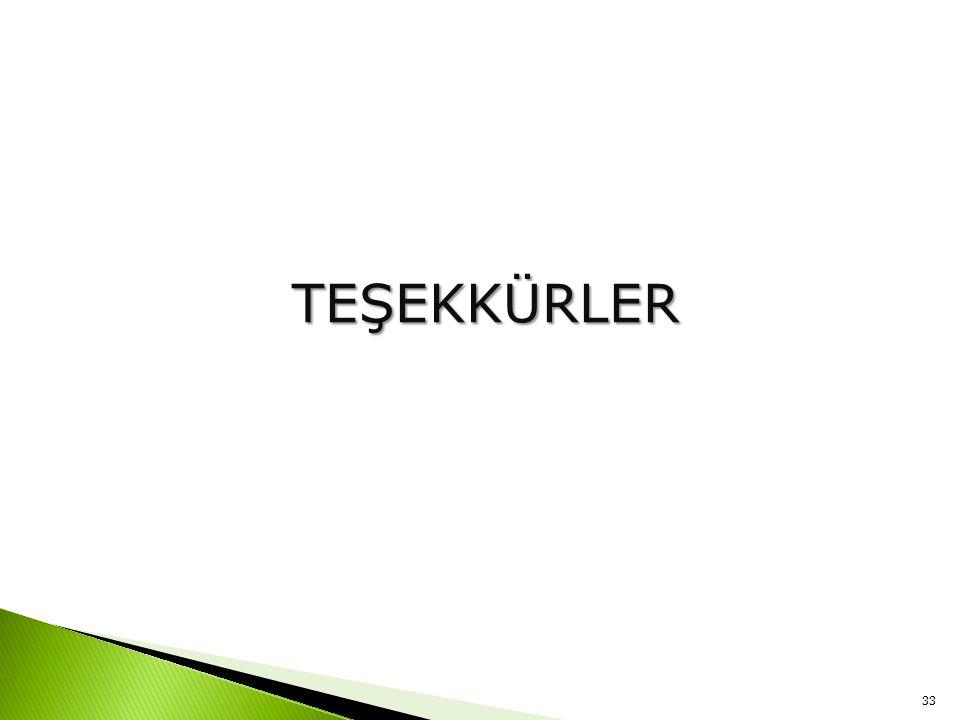 TEŞEKKÜRLER 33