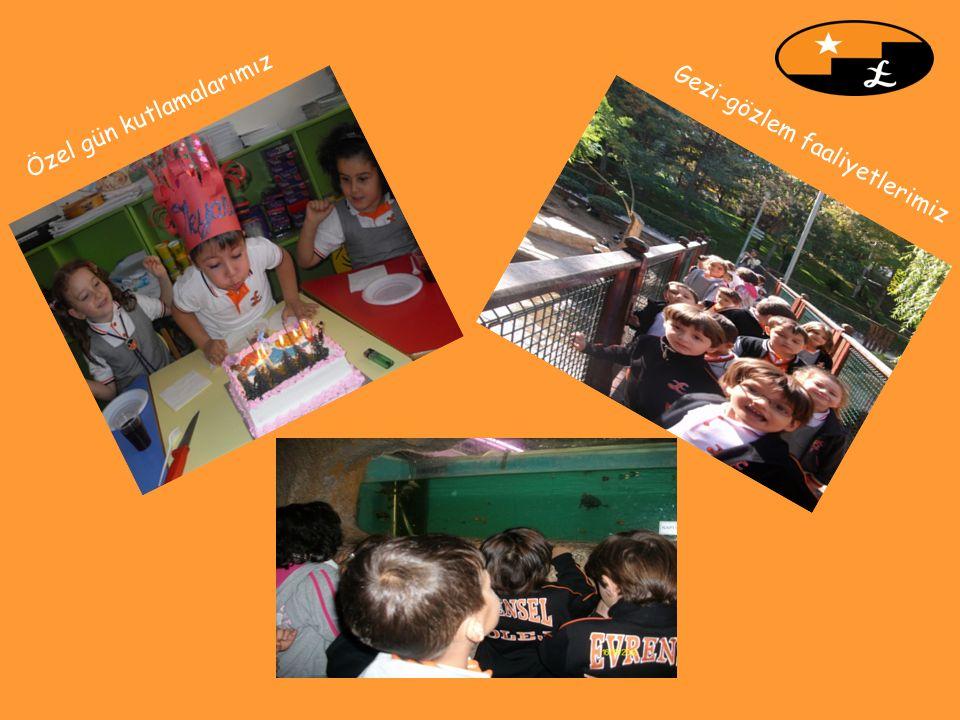 Özel gün kutlamalarımız Gezi-gözlem faaliyetlerimiz
