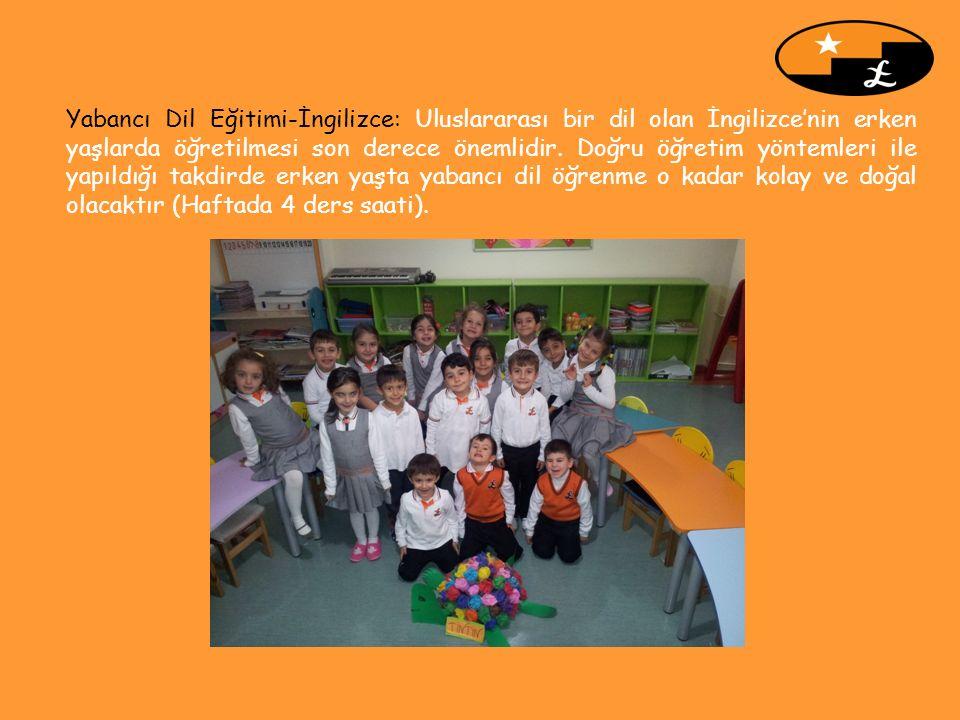 Yabancı Dil Eğitimi-İngilizce: Uluslararası bir dil olan İngilizce'nin erken yaşlarda öğretilmesi son derece önemlidir. Doğru öğretim yöntemleri ile y