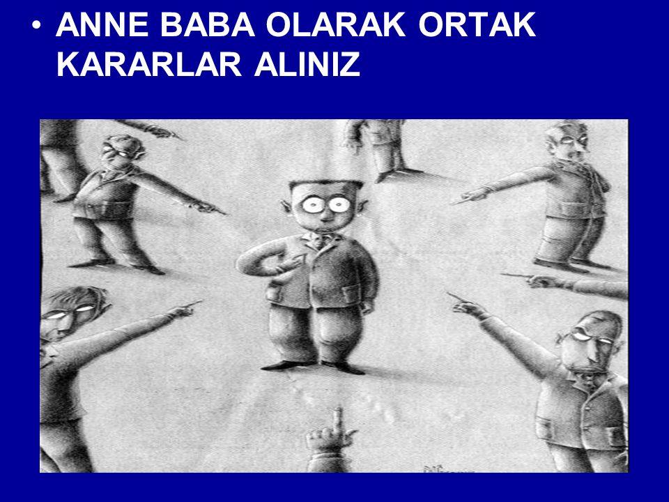 ANNE BABA OLARAK ORTAK KARARLAR ALINIZ