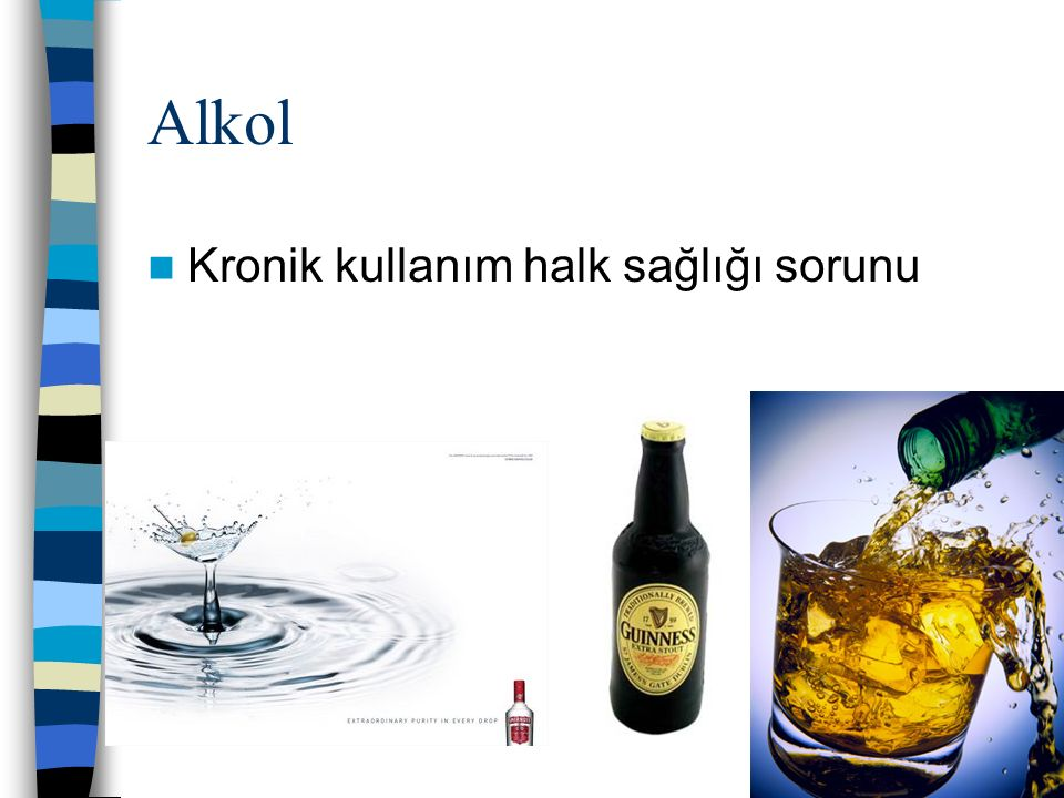 Alkol Kronik kullanım halk sağlığı sorunu