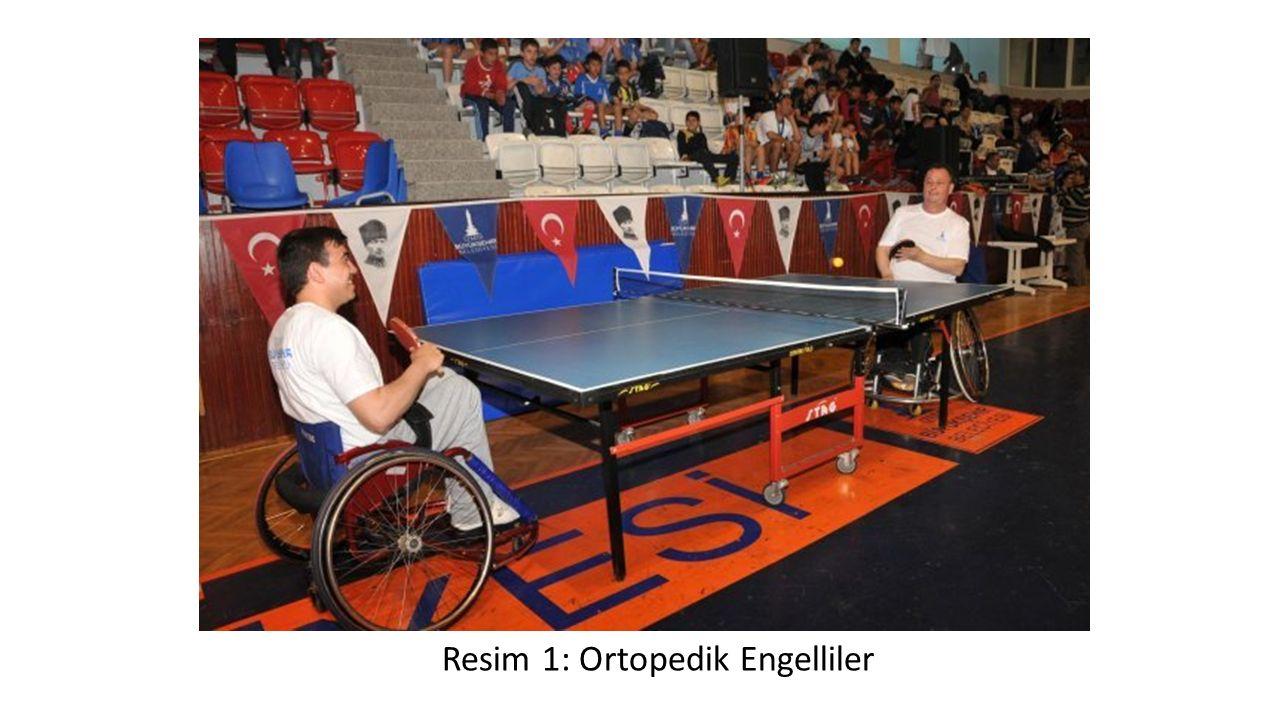 Resim 1: Ortopedik Engelliler