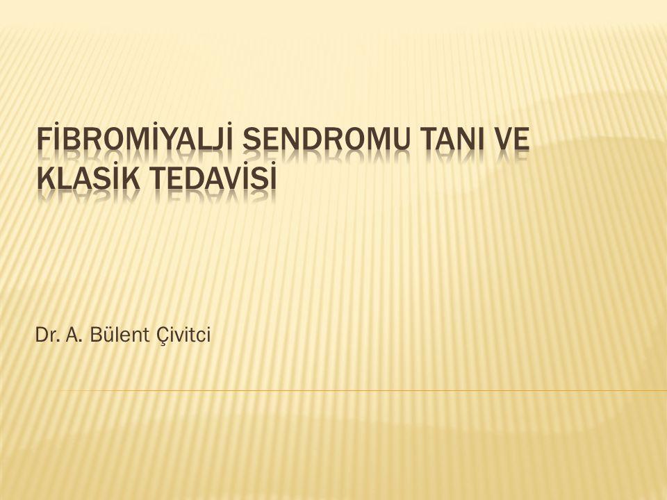 Dr. A. Bülent Çivitci