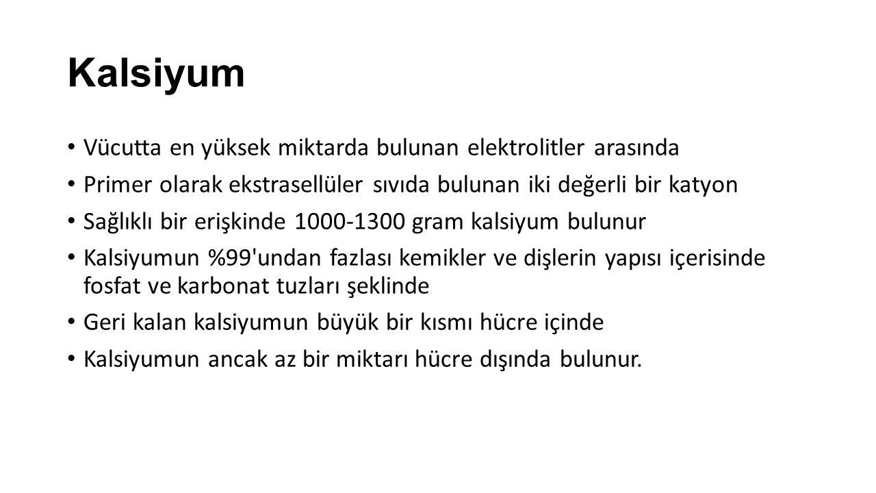 Labaratuvar Değerlendirilmesi Total serum kalsiyum düzeyleri genellikle tek başına tanı koydurur.