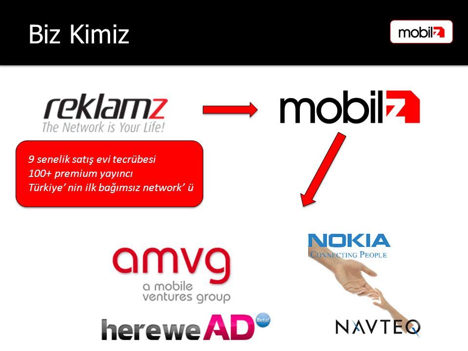 Biz Kimiz 9 senelik satış evi tecrübesi 100+ premium yayıncı Türkiye' nin ilk bağımsız network' ü