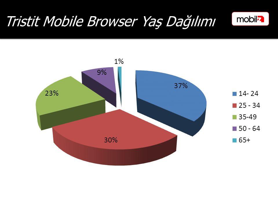 Tristit Mobile Browser Yaş Dağılımı