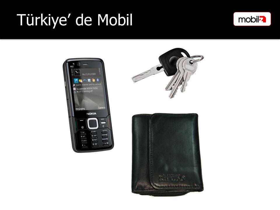 Türkiye' de Mobil