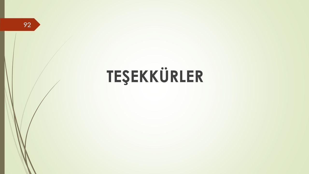 TEŞEKKÜRLER 92